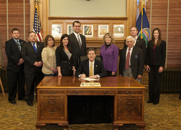 House Bill 2044 signing