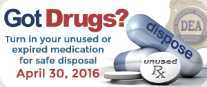 Drug Take Back promotional image